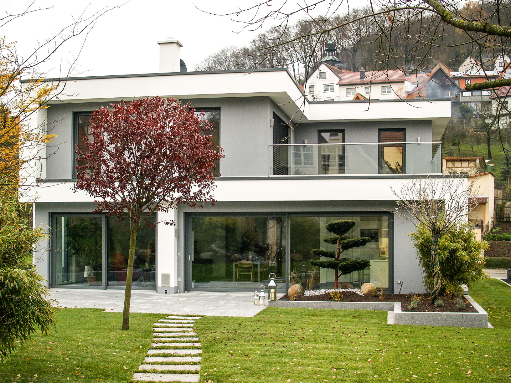Neubau einfamilienhaus peterseim fertiggestellt egn for Neubau einfamilienhaus