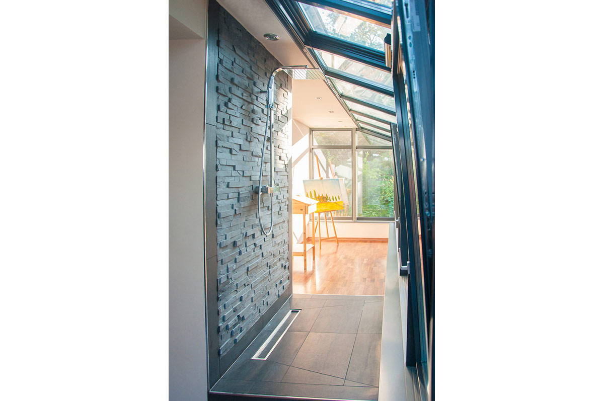 ansicht detail dusche 01 projekt jf9a egn architekten. Black Bedroom Furniture Sets. Home Design Ideas