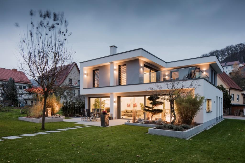 Außenansicht Einfamilienhaus ph, Bild: Tino Sieland